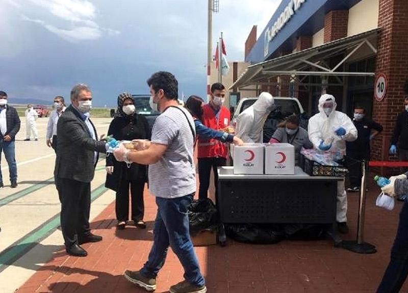 Suudi Arabistan'dan getirilen 169 vatandaş Nevşehir'de KYK yurduna yerleştirildi