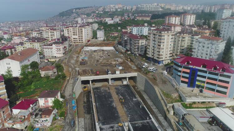 Türkiye'nin en maliyetli şehir içi yollarından olan Kanuni Bulvarı'nda son durum!