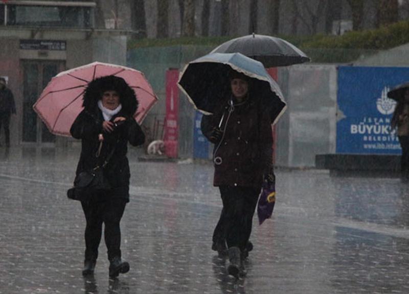 Meteoroloji İstanbul için son dakika sağanak yağış uyarısında bulundu