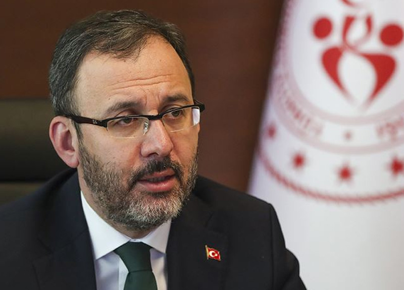 Gençlik ve Spor Bakanı Kasapoğlu: 76 ildeki yurtlarımızda 28 bin 700 vatandaşımıza ev sahipliği yapılıyor