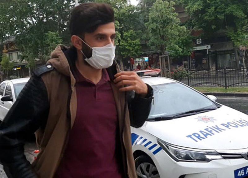 Kahramanmaraş'ta sokağa çıkma kısıtlamasına rağmen dışarı çıkan kişiye 4 bin 93 lira ceza yazıldı