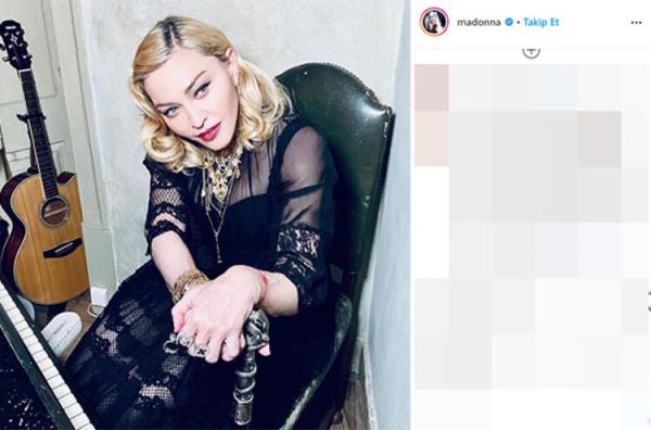 Madonna'nın koronavirüs paylaşımı şaşırttı!