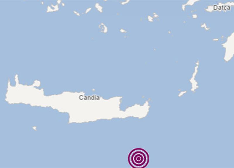 Akdeniz'de 4.6 büyüklüğünde deprem!