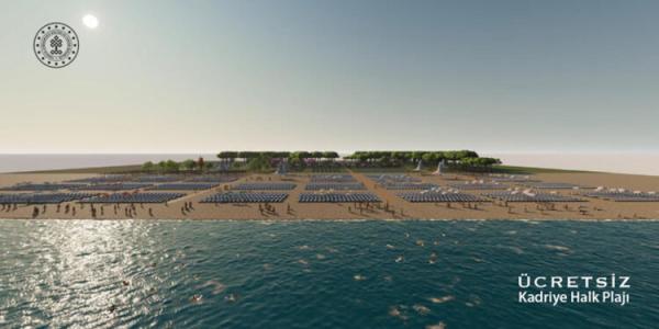 Kültür ve Turizm Bakanlığı'ndan beş yıldızlı halk plajları!