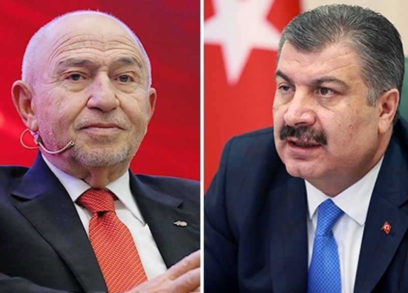 Bakan Koca: Liglerin devamı federasyonun kendi iradesiyle alacağı bir karar