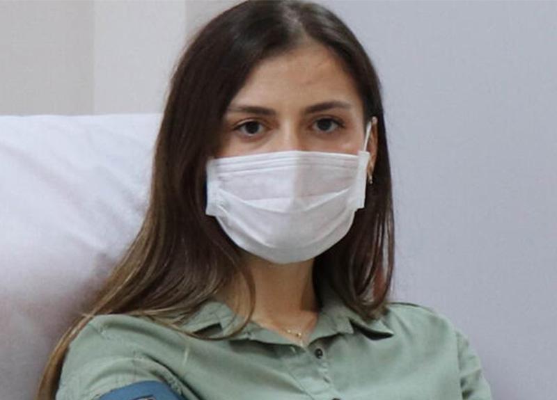 Koronavirüsü yenen Dr. Burcu Ayvaz plazma bağışçısı oldu!