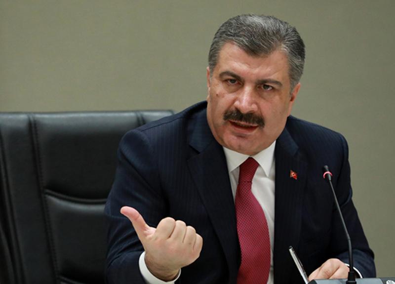 Sağlık Bakanı Koca, sosyal medya hesabından fotoğraf paylaşıp vatandaşlara uyarıda bulundu