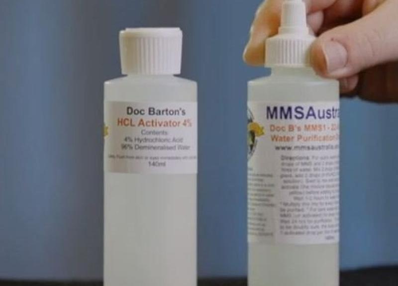 Avustralya'da koronavirüse çare diye ağartıcı dezenfektan maddesi klordioksit içerikli ilaç sattılar