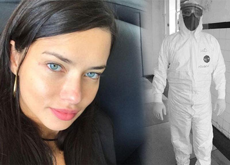 Adriana Lima, kuzeninin eşine teşekkür etti!