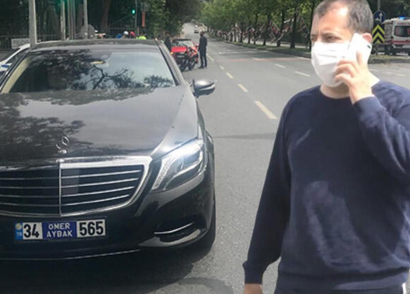 Adıyaman Çiğköftecisi markasının sahibi Ömer Aybak kaza geçirdi
