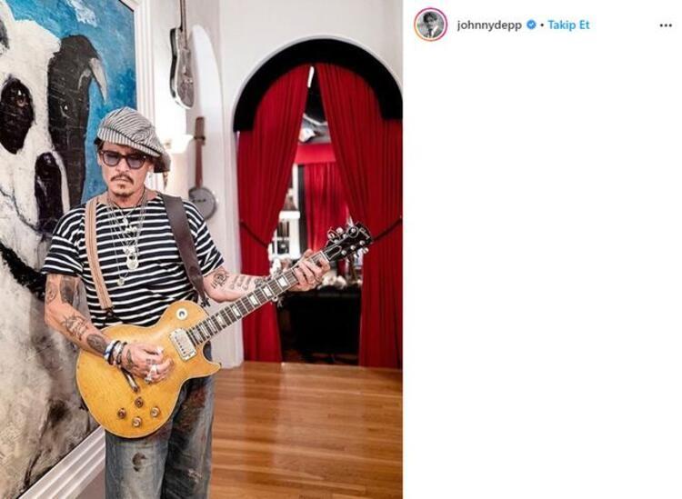 Johnny Depp ve Amber Heard arasında sular durulmuyor!