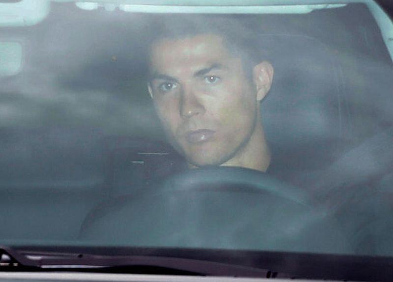 Cristiano Ronaldo 72 gün sonra İtalya'ya döndü!