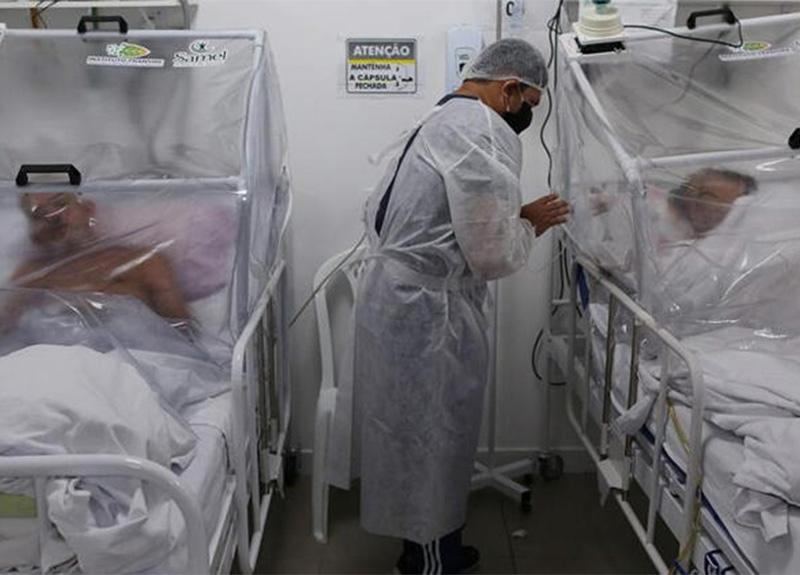 Brezilya'da koronavirüsten ölenlerin sayısı 888 artarak 18 bin 859'a yükseldi!