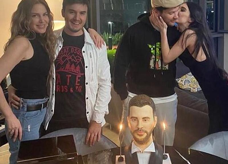 Sinan Akçıl'ın doğum günü pastası sosyal medyada olay oldu