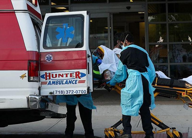 ABD'de son 24 saatte korkunç rakam! Ölü sayısı hızla artmaya devam ediyor...