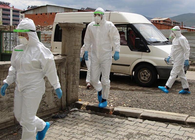 30 gündür yeni koronavirüs vakası görülmeyen Bingöl'de vakalar yeniden başladı!