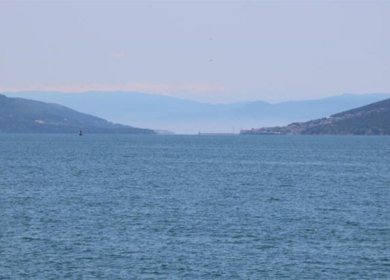 Bayramın ilk gününde Bostancı Sahili'nden Uludağ göründü!