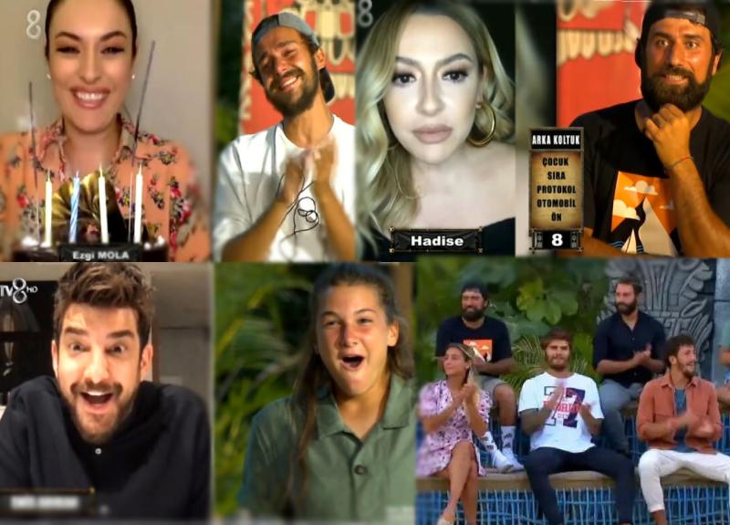 Survivor'da dün akşam ünlüler geçidi vardı! Anlat Bakalım oyununu kim kazandı? Ezgi Mola'dan ağlatan sürpriz!