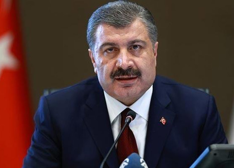 Sağlık Bakanı Fahrettin Koca günlük koronavirüs tablosunu açıkladı