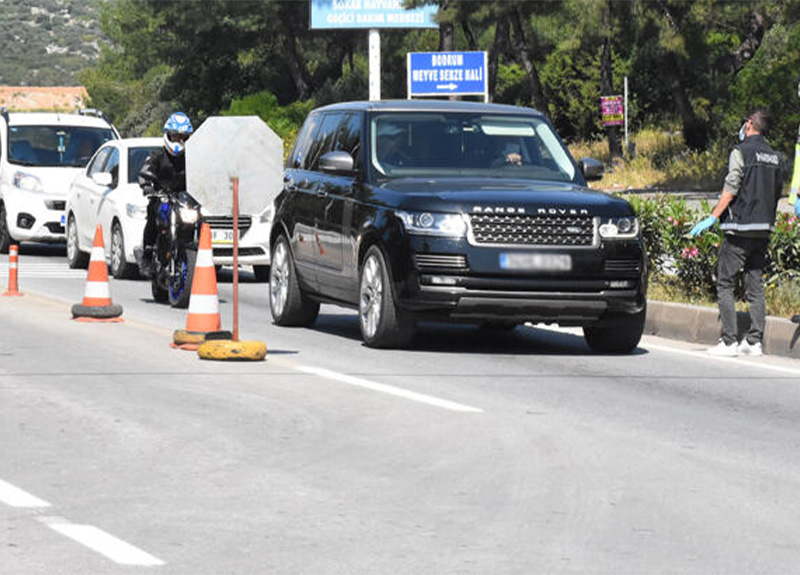 İstanbul'dan Bodrum'a VIP araçlarla gidildiği iddiasına Bodrum Kaymakamlığı'ndan yanıt!