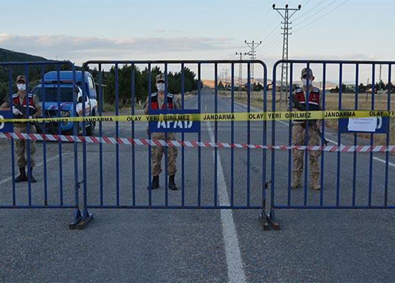 Gaziantep'te Kozdere Mahallesi koronavirüs nedeniyle karantinaya alındı!