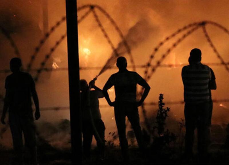 Aydın'da korkutan yangın! Alevler havada uçuştu!