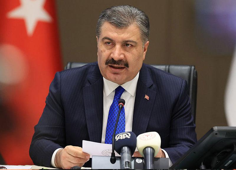 Sağlık Bakanı Fahrettin Koca Türkiye günlük koronavirüs verilerini paylaştı