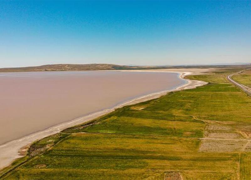 Herkes şokta! Tuz Gölü'nün rengi pembeye büründü!