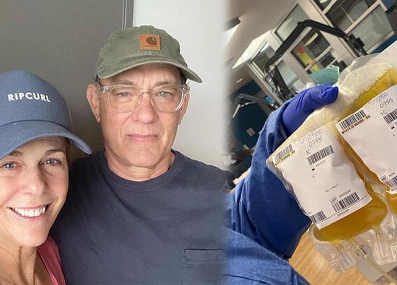 Koronavirüsü yenen Tom Hanks, üçüncü kez plazma bağışında bulundu!
