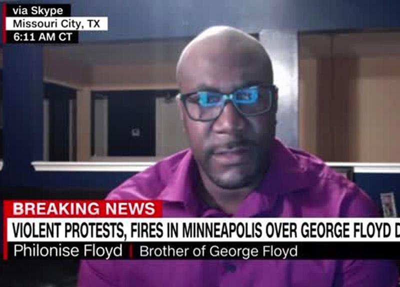 George Floyd'un kardeşi Philonise Floyd: Trump sürekli sözümü kesti