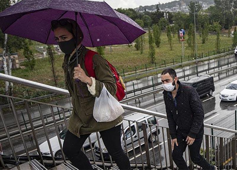 Meteoroloji açıkladı! Gök gürültülü sağanak yağış geliyor!