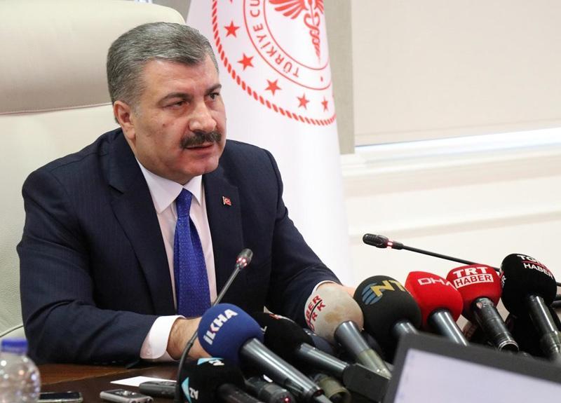 Bakan Koca: Türkiye'de son 24 saatte koronavirüs nedeniyle 22 kişi hayatını kaybetti