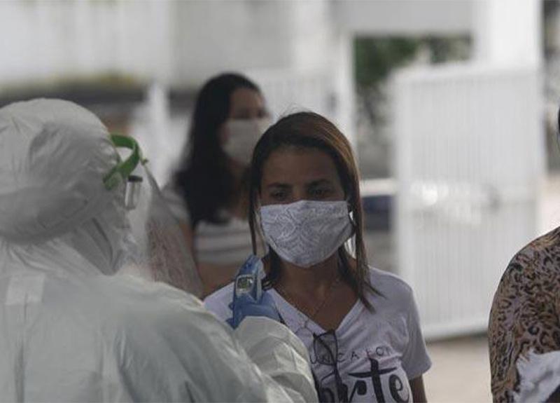Brezilya'da 1 günde 1262 kişi koronavirüs yüzünden can verdi!