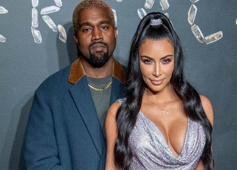 Kanye West ve Kim Kardashian'ın aynı evin içinde göz göze bile gelmediği iddia edildi
