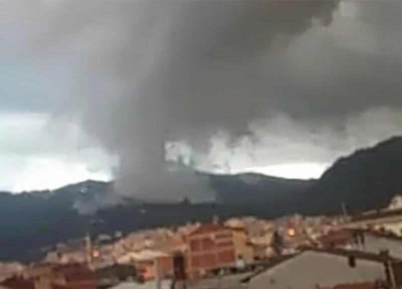 Bursa'daki doğa olayı vatandaşları korkuttu!