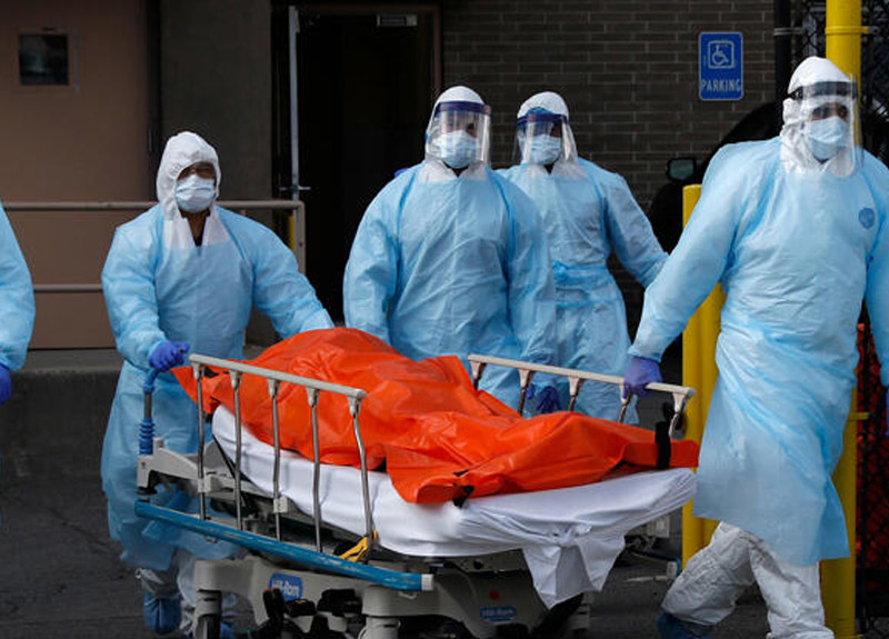 ABD'de koronavirüs felaketi sürüyor! Son 24 saatte feci rakam...