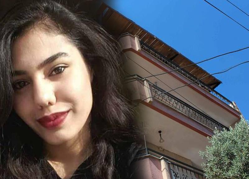 Manisa'da binanın çatı katından düşerek elektrik tellerine takılan genç kız yaralandı