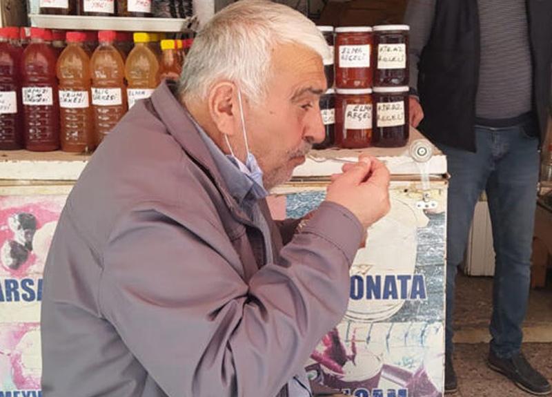 2 liralık karsambaç tatlısı için dışarı çıkan Mehmet Toprak, 799 lira ceza yedi