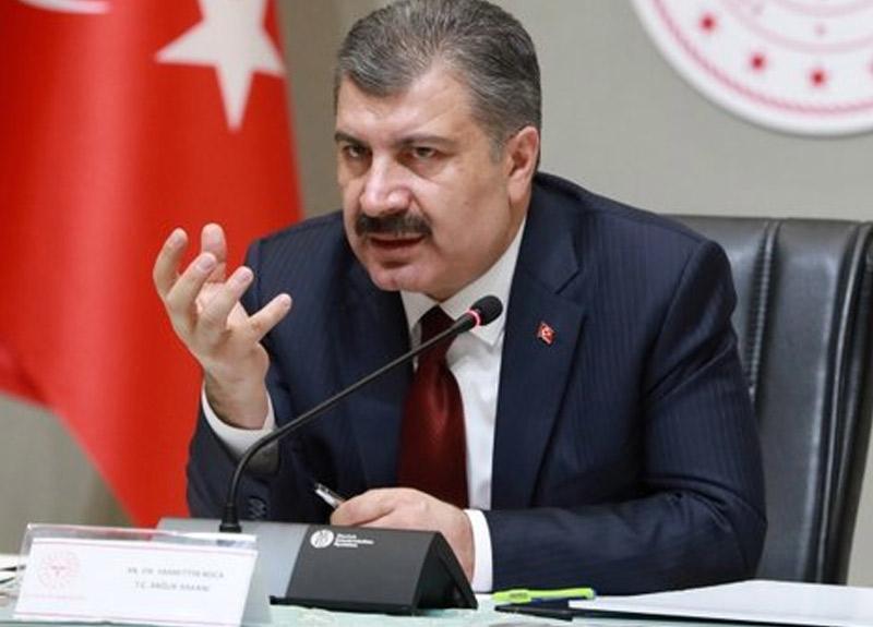 Sağlık Bakanı Fahrettin Koca günlük koronavirüs rakamlarını paylaştı