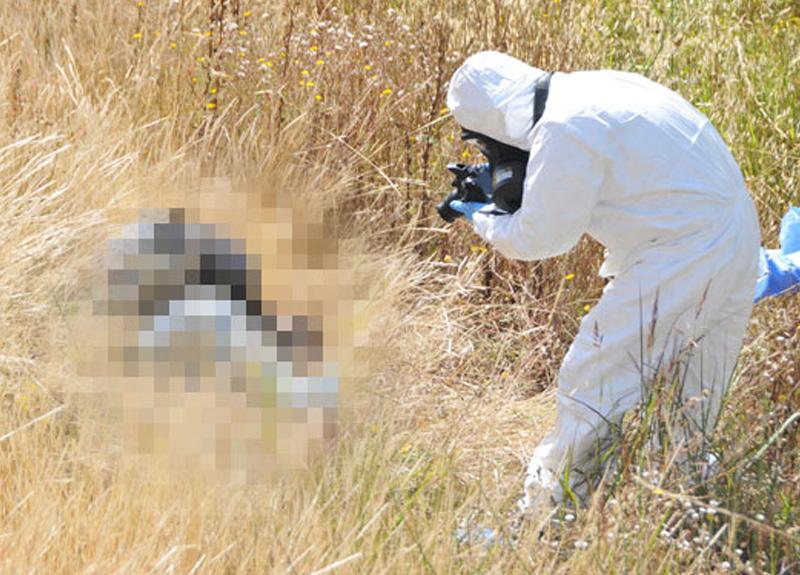 Antalya'da çalılık alanda yüzünde kan ve vücudunda morluklar bulunan bir ceset bulundu