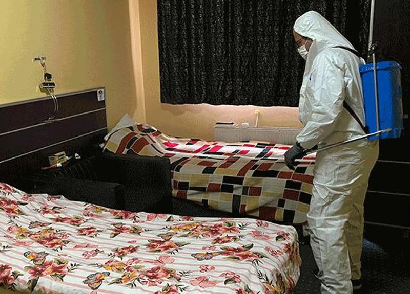 Muğlaspor'da salgından korunmak için yurda yerleştirilen futbolcular şartları beğenmedi, tesislere döndü