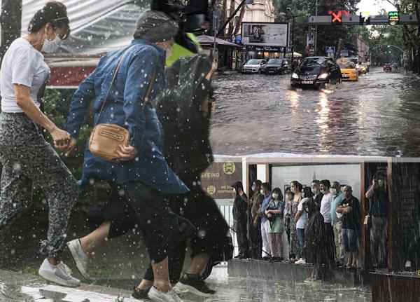 Meteoroloji uyarmıştı... İstanbul'da sağanak ve dolu feci bastırdı! İşte ilk görüntüler