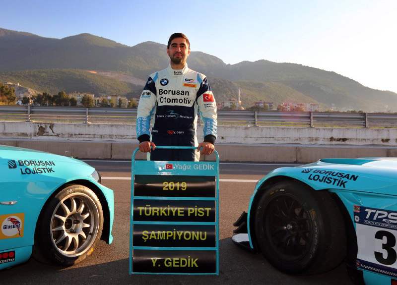 Borusan Otomotiv Motorsport'un yeni şampiyonu Yağız Gedik oldu