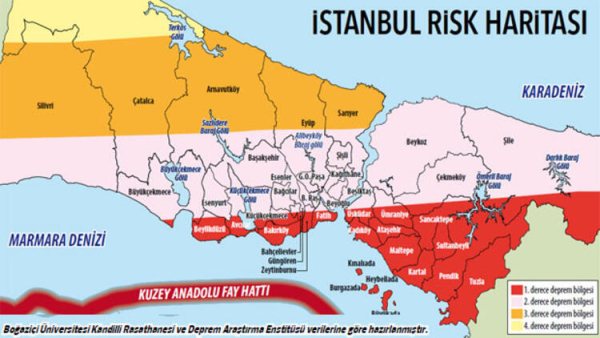 Olası İstanbul depreminin tahmini kayıp kitapçığı yayınlandı!