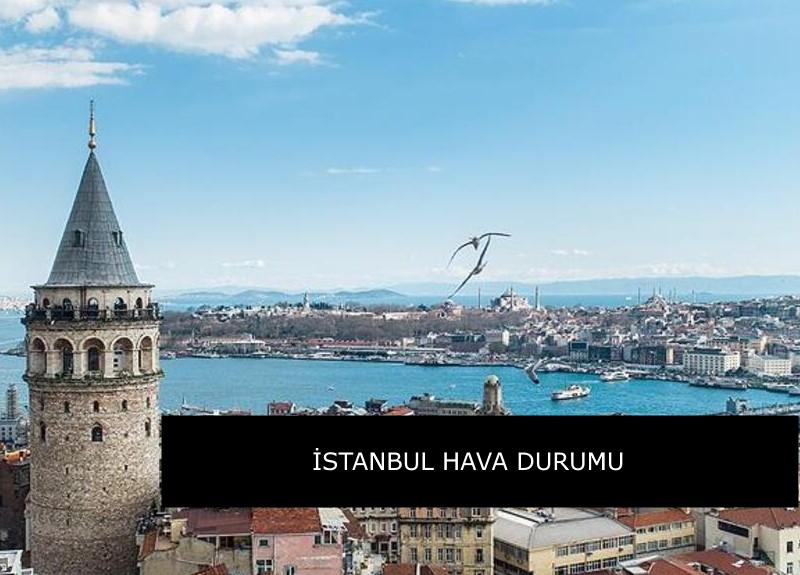 İstanbul hava durumu: Yağmur ne zaman sona eriyor? Meteoroloji açıkladı