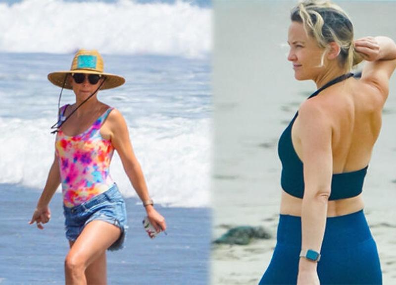Kate Hudson'ın ilginç deniz tarzı!