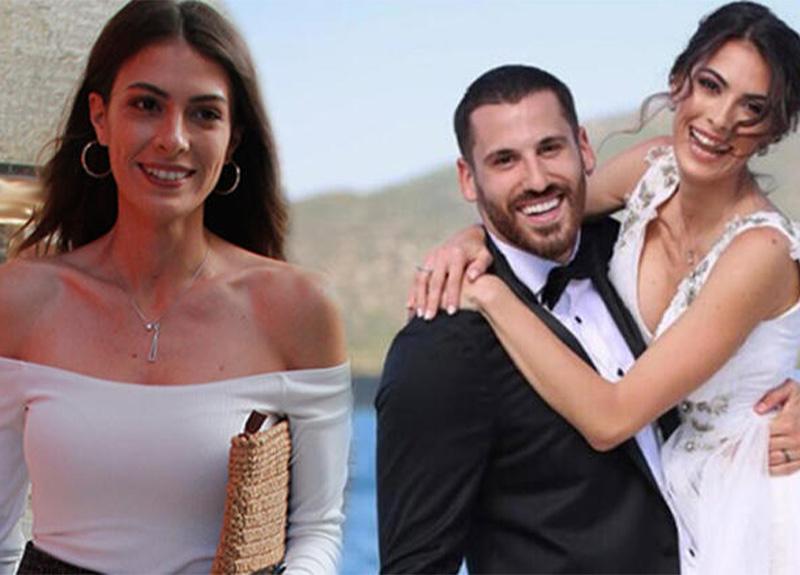 Model Ezgi Avcı, basketbolcu Nemanja ile dünyaevine girdi!