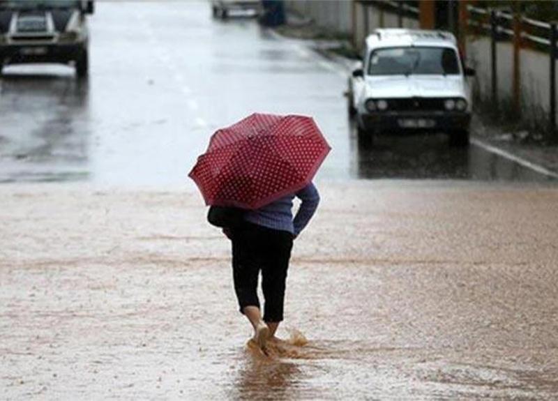 Meteoroloji'den 5 kente gök gürültülü sağanak yağış uyarısı!