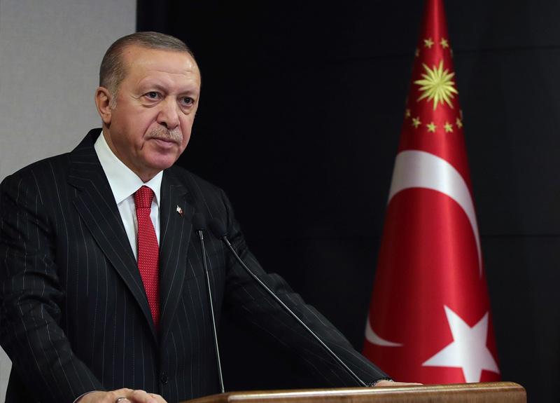 Cumhurbaşkanı Erdoğan: Kısa çalışma ödeneği 1 ay uzatıldı