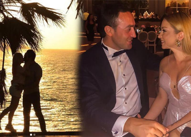 Ece Seçkin, pilot nişanlısı Çağrı Terlemez'e doğum günü sürprizi yaptı!